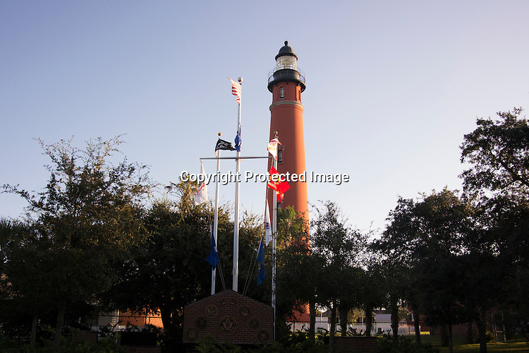 Lighthouse at Ponce de Leon Florida
