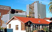 Frank Gehry: Spiller House, Venice, CA 1980.  Photo '86.