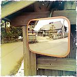 Photo shows an old farm house in Aizuwakamatsu City, Fukushima Prefecture, Japan.  Photographer: Rob Gilhooly