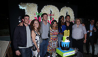 WEST HOLLYWOOD, CA - SEPTEMBER 09: Mindy Kaling, Ed Weeks, Ike Barinholtz, Beth Grant, Xosha Roquemore, Fortune Feimster, Bryan Greenberg attends The Mindy Project 100th Episode Party at E.P. & L.P. on September 9, 2016 in West Hollywood, California. (Credit: Parisa Afsahi/MediaPunch).