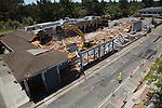 Safeway store demolition