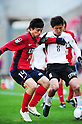 Chikashi Masuda (Antlers), Takuya Nozawa (Vissel),.MARCH 20, 2012 - Football / Soccer :.2012 J.League Yamazaki Nabisco Cup Group B match between Kashima Antlers 2-0 Vissel Kobe at Kashima Soccer Stadium in Ibaraki, Japan. (Photo by AFLO)