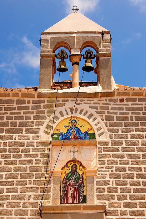 Greek Orthodox Monastery of the Profitis Ilias, Hydra, Greek Saronic Islands