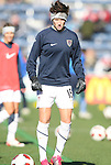 27 November 2010: Megan Rapinoe (USA). The United States Women's National Team defeated the Italy Women's National Team 1-0 in the second leg of their 2011 FIFA Women's World Cup Qualifier playoff at Toyota Park in Bridgeview, Illinois. The U.S. won the series 2-0 on aggregate goals to advance.