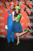 LOS ANGELES, CA - OCTOBER 15: Seth Rogen and Lauren Miller at Hilarity for Charity's 5th Annual Los Angeles Variety Show: Seth Rogen's Halloween at Hollywood Palladium on October 15, 2016 in Los Angeles, California. Credit: David Edwards/MediaPunch