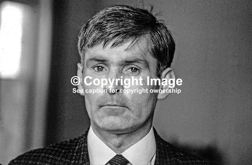 John McKeague, Belfast, N Ireland, UK, prominent member, Shankill Defence Association, 196908000228.<br />