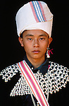 Portrait of Lisu man, Thailand