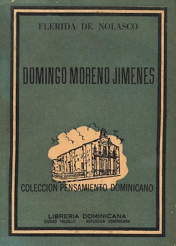Portada de la Antología de Domingo Moreno Jimeenes.