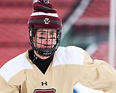 Zach Walker (BC - 14) - The Boston College Eagles practiced at Fenway on Friday, January 6, 2017, in Boston, Massachusetts.