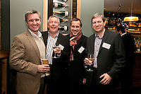 Say cheese - from left are Shaun Fox of Vulpes, Paul Tewson of Gilbert & Hall Developments, Dan Bennett of Chesterton Humberts and Chris Hall of Gilbert & Hall Developments