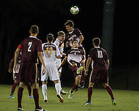 The Winthrop University Eagles played the College of Charleston Cougars at Eagles Field in Rock Hill, SC.  College of Charleston broke the 1-1 tie with a goal in the 88th minute to win 2-1.  Tucker Coons (3), Daan Brinkman (4), Adam Brundle (12), Magnus Thorsson (8)