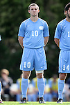 27 November 2011: North Carolina's Billy Schuler. The University of North Carolina Tar Heels defeated the Indiana University Hoosiers 1-0 in overtime at Fetzer Field in Chapel Hill, North Carolina in an NCAA Men's Soccer Tournament third round game.