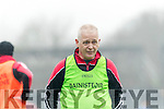 Kenmare Manager John Sullivan at the AIB GAA Football Junior All Ireland Club Championship Semi Final in Ennis on Sunday.