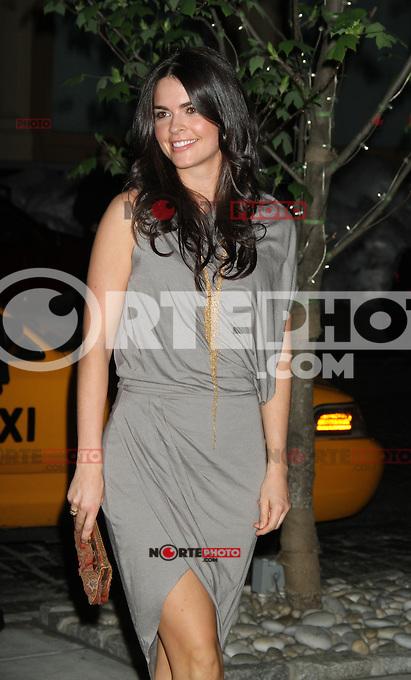 April 19, 2012 Katie Lee asiste a la proyección de Warner Bros. Pictures con la cinta  ¨The Lucky One¨ en el Hotel Crosby Street en Nueva York.(*Foto:©RW/Mediapunch/NortePhoto.com*)