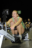 Birmingham, Great Britain, Women's Student Hwt Gold medallist, Erica BODMAN Rob Roy RC,  competing at the 2008 British Indoor Rowing Championships, National Indoor Arena. on  Sunday 26.10.2008 . [Photo, Peter Spurrier/Intersport-images] ..