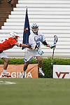 CHAPEL HILL, NC - APRIL 28: Pat Foster #41 of the North Carolina Tar Heels playing the Virginia Cavaliers on April 28, 2013 at Kenan Stadium in Chapel Hill, North Carolina. North Carolina won the ACC Championship with a 16-13 win. (Photo by Peyton Williams/Getty Images) *** Local Caption *** Pat Foster