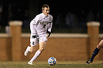 24 November 2013: Wake Forest's Jared Watts. The Wake Forest University Demon Deacons played the Naval Academy Midshipmen at Spry Stadium in Winston-Salem, NC in a 2013 NCAA Division I Men's Soccer Tournament Second Round match. Wake Forest won the game 2-1.