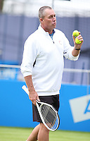 JUN 18 Andy Murray of Great Britain plays Marin Cilic at Queens - Day Six