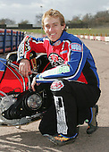 Adam Shields of Lakeside Hammers Speedway Team - Lakeside Hammers Press Day at The Arena Essex Raceway, Thurrock - 07/03/07 - MANDATORY CREDIT: Rob Newell/TGSPHOTO