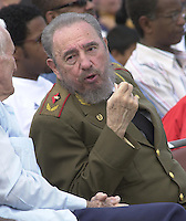 Photo file / Cuban President Raul Castro is seen in 2004 in Havana, Cuba. . Credit: Jorge Rey/MediaPunch