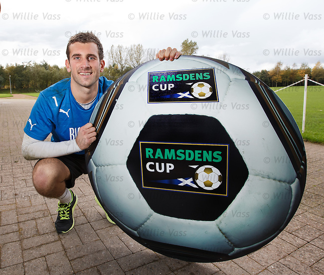Rangers goalie Cammy Bell looking ahead to tomorrow's Ramsdens Cup semi at Ochilview