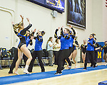 The University of Michigan women's gymnastics team beat Penn State, 197.375-196.700, at Cliff Keen Arena in Ann Arbor, Mich., on February 16, 2013.