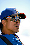 15 March 2006: Kazuo Matsui, infielder for the New York Mets, on the field prior to a Spring Training game against the Washington Nationals. The Mets defeated the Nationals 8-5 at Space Coast Stadium, in Viera, Florida...Mandatory Photo Credit: Ed Wolfstein..
