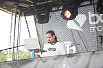 DJ K-Salaam Spinnin at the 8th Annual Rock The Bells Held on Governors Island, NY  9/3/11