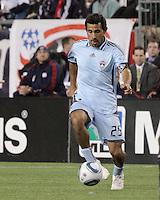 Colorado Rapids midfielder Pablo Mastroeni (25).  The Colorado Rapids defeated the New England Revolution, 2-1, at Gillette Stadium on April 24.2010