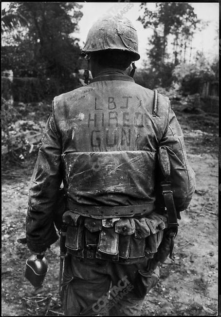 US Marine, Têt Offensive, Battle of Hué, South Vietnam, February 1968.