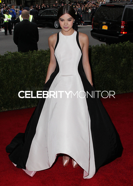 """NEW YORK CITY, NY, USA - MAY 05: Hailee Steinfeld at the """"Charles James: Beyond Fashion"""" Costume Institute Gala held at the Metropolitan Museum of Art on May 5, 2014 in New York City, New York, United States. (Photo by Xavier Collin/Celebrity Monitor)"""