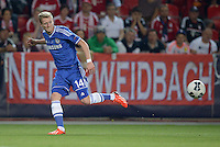 FUSSBALL  SUPERCUP  FINALE  2013  in Prag    FC Bayern Muenchen - FC Chelsea London          30.08.2013 Andre Schuerrle (FC Chelsea) legt zum 0:1 auf