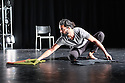 "London, UK. 02.07.2016. Salah el Brogy rehearses his new work ""Letting Go"", at the Rose Theatre, where he is appearing as part of the Ignition Festival 2016. Photograph © Jane Hobson."