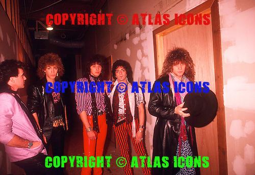 BON JOVI 1985 WILLIAM HAMES