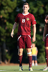 14 August 2015: Winthrop's Kyle Kennedy (IRL). The University of North Carolina Tar Heels hosted the Winthrop University Eagles at Fetzer Field in Chapel Hill, NC in a 2015 NCAA Division I Men's Soccer preseason exhibition. North Carolina won the game 4-1.