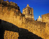Mission Concepción, San Antonio Missions National Historic Park, San Antonio,Texas, USA