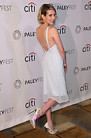 Emma Roberts<br /> at the &quot;American Horror Story&quot; at the 31st PALEYFEST, Dolby Theater, Hollywood, CA 03-28-14<br /> David Edwards/DailyCeleb.Com 818-249-4998