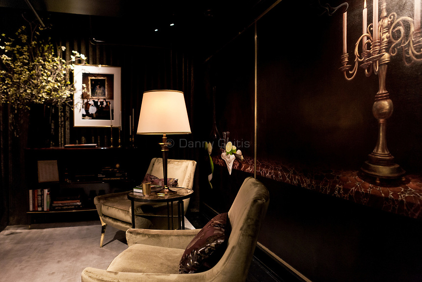 Design by Litchten Craig Architecture + Interiors at The 45th Kips Bay Decorator Show House, at 125 East 65th St. <br /> <br /> Danny Ghitis for The New York Times