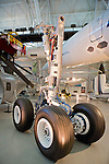 Air France Concorde Wheel Assembly, Air & Space Museum - Steven F. Udvar-Hazy Center