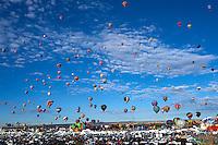 Hot Air Balloons at 2016 Albuquerque Balloon Festival