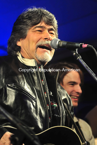 SOUTHINGTON, CT- 09 February 2009 --020909JS03-Alabama's lead singer and Country Music Hall of Fame member Randy Owen was head-lined the the St. Jude's Concert for Kids benefit concert held Monday at the Cadillac Ranch in Southington. Along with Owen, country stars Darryl Worley, Jason Michael Carrol, Jimmy Wayne, Lee Ann Womack, Mark Wills and Dean Brody preformed during the show. All procedes from the sold0out show will benefit St. Jude Childrens Hospital. <br /> Jim Shannon / Republican-American
