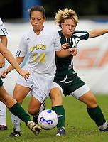 FIU Women's Soccer v. Stetson (9/23/07)(partial)