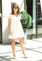 NEW YORK, NY-June 22: Hilaria Baldwin at the Crosby Street Hotel in New York. NY June 22, 2016. Credit: RW/MediaPunch