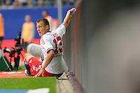 FUSSBALL   1. BUNDESLIGA   SAISON 2011/2012    6. SPIELTAG Hamburger SV - Borussia Moenchengladbach            17.09.2011 Mladen PETRIC (Hamburg) enttaeuscht