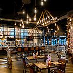 Eldorado Scioto Downs Racino Courtyard Patio & The Brew Brothers Restaurant