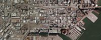 aerial photograph China Basin South Beach San Francisco, California