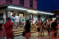 Ice cream shop, Stone Harbor, New Jersey, USA