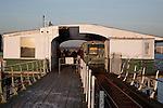 Hythe Ferry and Pier Railway Terminal, Southampton; England; UK