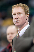 Greg Brown (BC - Assistant Coach) - The University of Massachusetts-Lowell River Hawks defeated the Boston College Eagles 3-1 (EN) on Saturday, January 23, 2010, at Tsongas Arena in Lowell, Massachusetts.