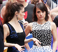 NEW YORK, NY-June 28: Shiri Appleby, Constance Zimmer at Good Morning America to talk about 2nd season of UnREALtv in New York. NY June 28, 2016. Credit:RW/MediaPunch